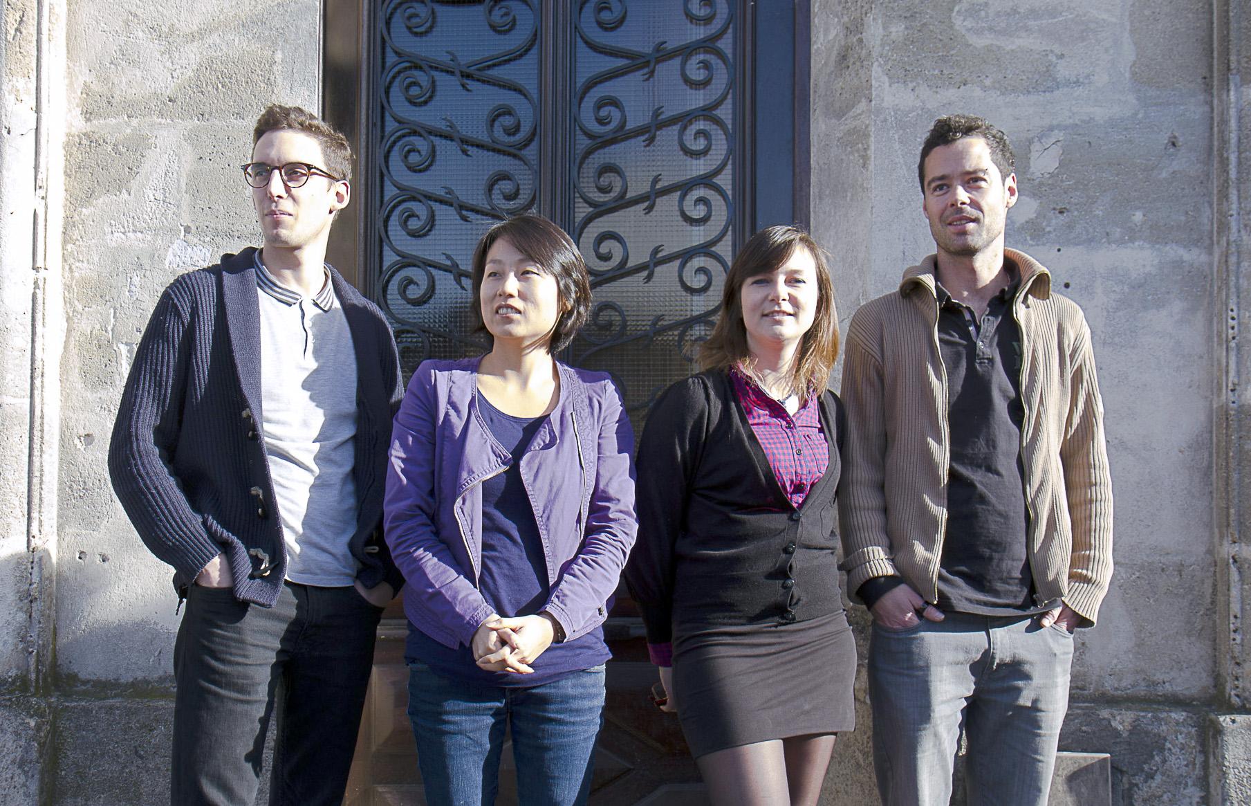 La Feppia (Antoine Thomas, Sooyoung Pajot, Eléonore Dubois et Thomas Demaere) - (c) Pierre Lansac