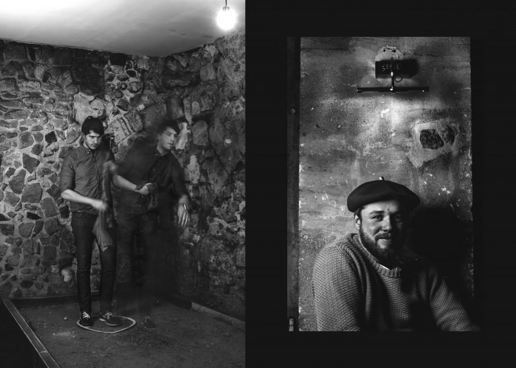 Portraits d'Adrien et Manu de Belle Campagne et du bar Les Cadets par Antoine Delage pour Happe:n