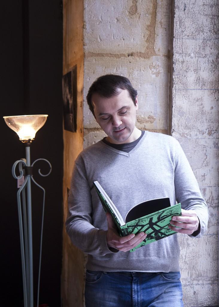 Claude Lemaire au commandes de l'Ascenseur végétal. © Pierre Lansac pour Happen