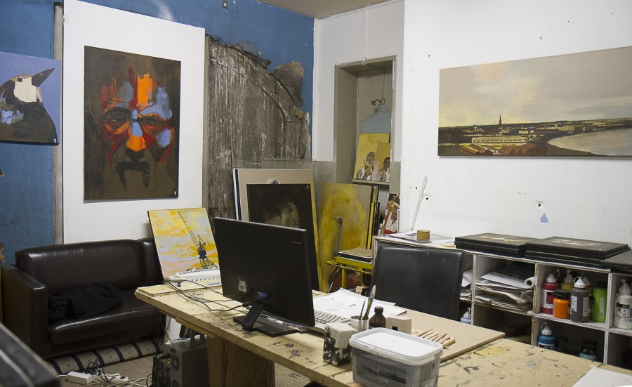 L'atelier d'Yves Briand