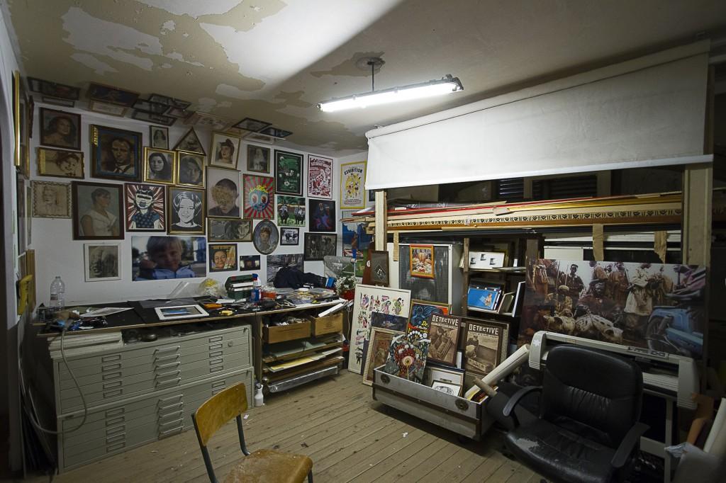L'atelier de Xavier Ferrère