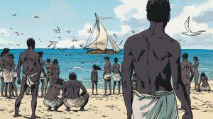 """© SAVOIA Image de couverture des """"Esclaves oubliés de Tromelin"""", par Sylvain Savoia"""