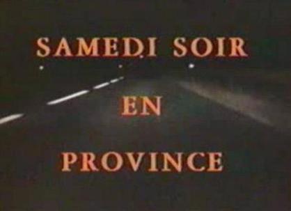 Samedi soir en province | Agenda du week end Happe:n