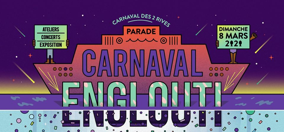 Parade Carnaval des Deux RIves Happen Agenda du Week end