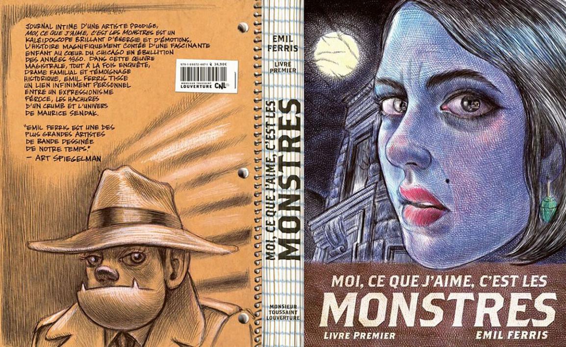 Emil Ferris, Moi ce que j'aime, c'est les monstres