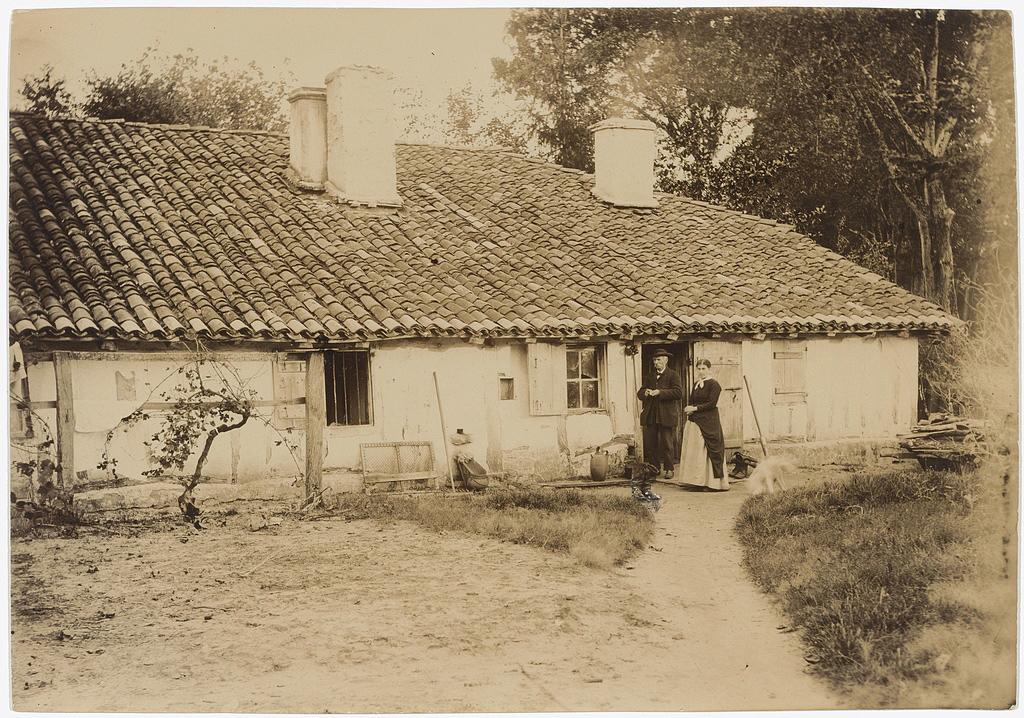 La Monge, Maison de Félix Arnaudin