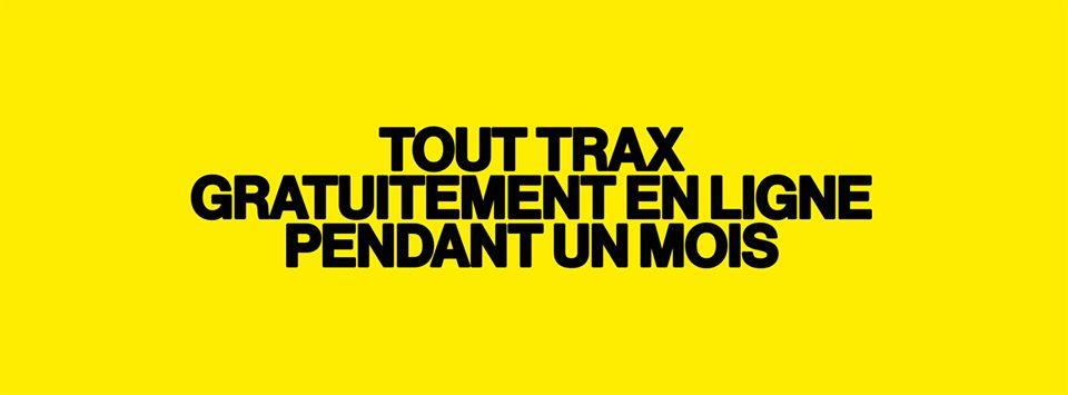 Trax MAgazine Gratuit pendant un Mois Agenda du Week End Happen