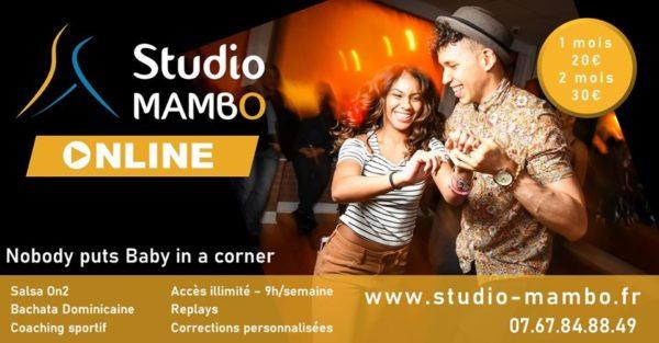 Le Studio Mambo propose des cours en ligne en attendant leur réouverture.