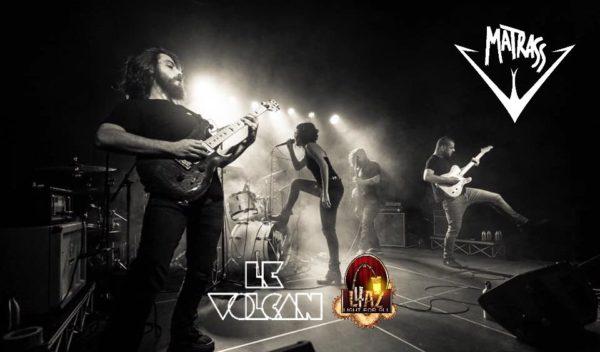 Affiche Live Matrass avec L4AZ et le Volcan